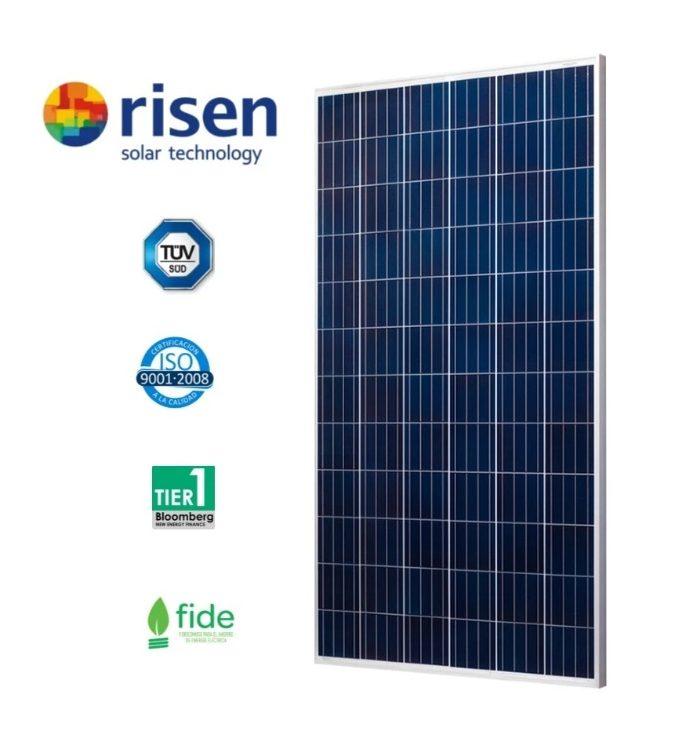 RISEN -Panel Solar Monocristalino PERC; Potencia 385W, Eficiencia: 19,3% Image
